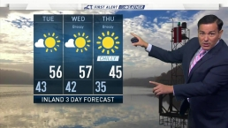 Afternoon Forecast For October 16