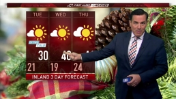 Afternoon Forecast for Dec. 18