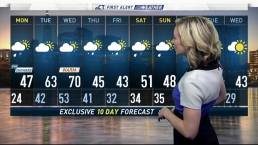 Afternoon Forecast for February 19