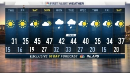 Afternoon Forecast for January 18