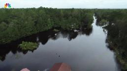 North Carolina Flooding From Above