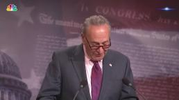 Sen. Schumer Gives Thanks to McCain, Murkowski and Collins
