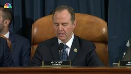 Adam Schiff's Opening Statement From Impeachment Hearing With Vindman, Williams