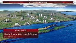 Evening Forecast Aug 17 2018