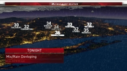 Evening Forecast for Decmeber 6