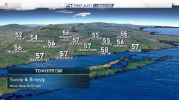 Evening Weather for October 15