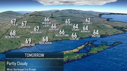 Evening forecast on October 11th, 2019