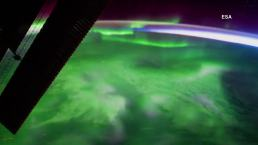 The Aurora Borealis as Seen From Space