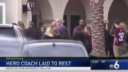 Fla. Coach Hailed as Hero During Shooting Laid to Rest