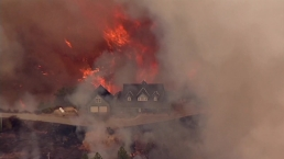 RAW VIDEO: Fire in Santa Cruz Mountains Prompts Evacuations