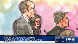Orlando Gunman's Wife Pleads Not Guilty to Obstruction, Aiding Charges