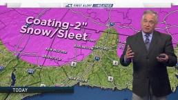 Morning Forecast for April 19
