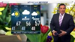 Morning Forecast for April 25 2019