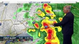 Morning Forecast for June 25