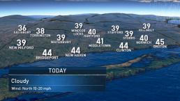 Morning Forecast for Monday November 18