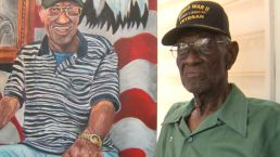 Portrait Honors Nation's Oldest Living Veteran