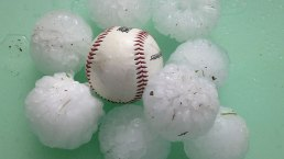 Dallas Viewers Share Dramatic Photos of Hail- Gallery III