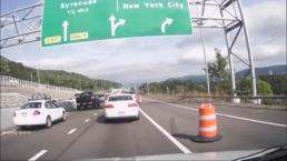 Camera Captures Nasty Crash on NY Highway