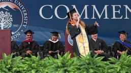 Graduate Raps Her Commencement Speech