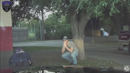 Raw Video: Granbury Officer Performs CPR on Child