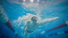 SCSU Swimmer With Autism Determined to Compete