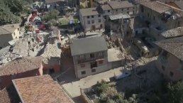 Drone Footage Shows Earthquake Devastation in Italy