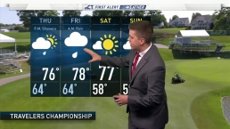 Travelers Championship Forecast for Thursday