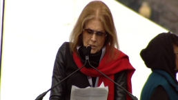 'Do Not Try to Divide Us': Steinem at DC Women's March