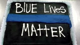 Wal-Mart Rejects 'Blue Lives Matter' Cake