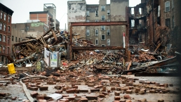 PHOTOS: Building Collapses in the East Village
