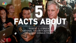 5 Facts About National Security Advisor Robert C. O'Brien