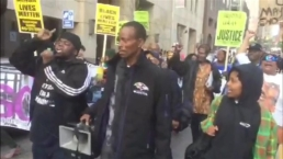 RAW: Protests Following Death of Freddie Gray