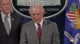 Sessions Warns Would-Be Leakers: 'Don't Do It'