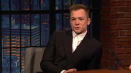 'Late Night': Elton John Gave Taron Egerton His Drag Name