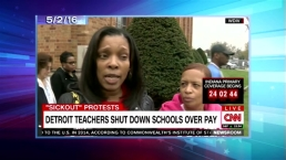 'Late Night' Look at Detroit Teacher Sickouts