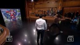 'Tonight': Trident Throwing With Jason Momoa