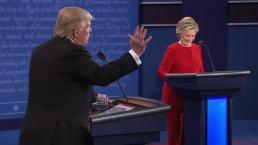 Presidential Debate: Trump Comments on His Temperament