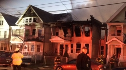 2 Firefighters Injured Battling House Fire in New Haven