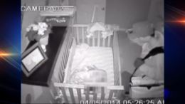 Caught on Camera: Baby Monitor Captures Burglar Peering Into Crib