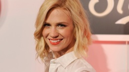 "January Jones on Son's Paternity: ""It's Not the Public's Business"""