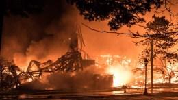 Fire Destroys Historic Shakespeare Theatre in Stratford