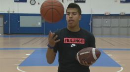 Jalen Ollie Juggles Two Sports