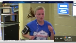 Runners Lace Up for Indoor 5k