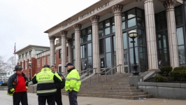 Candy Cane Crumbs Prompt Hazmat Response to Boston Courthouse