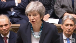 UK's May Hits Narrowing Road for Help Rescuing Brexit Deal