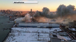Smoky 7-Alarm Blaze Rips Through Brooklyn Warehouse