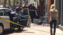 6 Hurt, 1 Critically, When Elderly Driver Plows Into Sidewalk Cafe