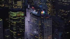 30 Rock Lights Up With New Comcast Name