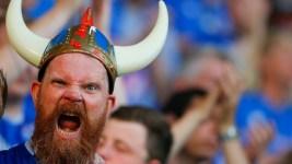 Iceland Celebrates Shock Win Over England at Euro 2016