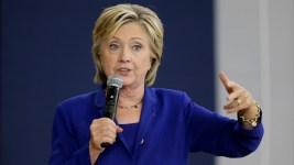 Hillary Clinton Campaigns in Iowa